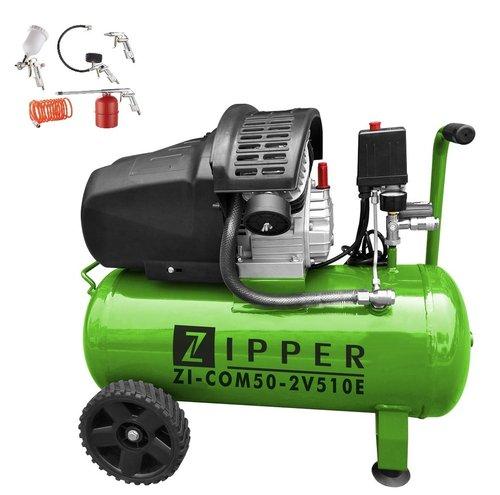 zipper zi com50 2v510e 2 zylinder kolben kompressor 10bar. Black Bedroom Furniture Sets. Home Design Ideas